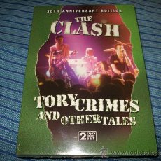 Vídeos y DVD Musicales: 2DVD THE CLASH - TORY CRIMES AND OTHER TALES - 30TH ANNIVERSARY EDITION - PUNK ERA - PRECINTADO. Lote 35539053