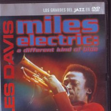 Vídeos y DVD Musicales: UXD MILES DEVIS ELECTRIC : A DIFFERENT BAND OF BLUE JAZZ ISLE OF WIGHT COREA SANTANA HANCOCK DVD . Lote 35567145