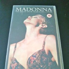 Vídeos y DVD Musicales: MADONNA - THE GIRLIE SHOW - LIVE DOWN UNDER - VHS. Lote 35568072