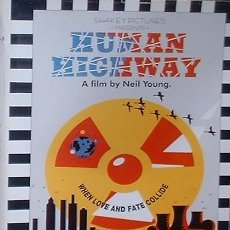 Vídeos y DVD Musicales: HUMAN HIGHWAY A FILM BY NEIL YOUNG - VHS - WARNER REPRISE VIDEO 1982 + DVD. Lote 35807311
