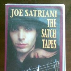 Vídeos y DVD Musicales: (VHS) JOE SATRIANI: THE SATCH TAPES. Lote 35965597