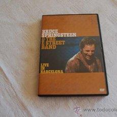 Vídeos y DVD Musicales: BRUCE SPRINGSTEEN LIVE EN BARCELONA. Lote 36016240