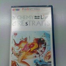 Vídeos y DVD Musicales: VIDEOCASSETTE VHS DIRE STRAITS ALCHEMY. DE POLYGRAM 1983. Lote 36047554