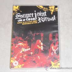 Vídeos y DVD Musicales: SUPERJOINT RITUAL - LIVE AT CBGB - DVD PUNK,HARDCORE.. Lote 36521281