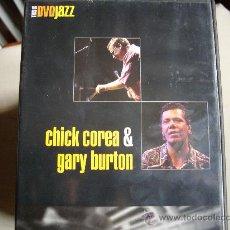 Vídeos y DVD Musicales: CHICK COREA & GARY BURTON - DVD. Lote 36523894