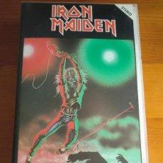 Vídeos y DVD Musicales: VIDEO VHS IRON MAIDEN: LIVE AT THE RAINBOW (1.981). ¡NUEVO! DESCATALOGADO. Lote 36752230