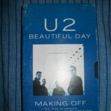 Vídeos y DVD Musicales: VHS - U2 - BEAUTIFUL DAY - MAKKING OFF . Lote 37024347