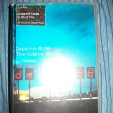 Vídeos y DVD Musicales: VHS - DEPECHE MODE - THE VIDEOS 86 - 98. Lote 37024367