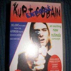 Vídeos y DVD Musicales: VHS - KURT COBAIN - THE LEGENDARY. Lote 37024437
