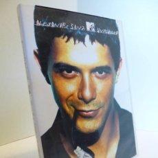 Vídeos y DVD Musicales: ALEJANDRO SANZ MTV UNPLUGGED. DVD. DIFÍCIL. Lote 37413370