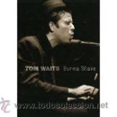 Vídeos y DVD Musicales: TOM WAITS. BURMA SHAVE. PRECINTADO. CONCIERTO EN DIRECTO. Lote 37658928
