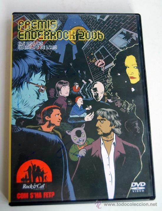 PREMIS ENDERROCK 2006 DVD ELS MILLORS VIDEOCLIPS L'ANY EN CALALAN 24 GRUPOS ROCK SISA OBRINT PAS (Música - Videos y DVD Musicales)