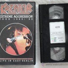Vídeos y DVD Musicales: VHS HEAVY METAL - KREATOR - LIVE IN EAST BERLIN 1990. Lote 195794335