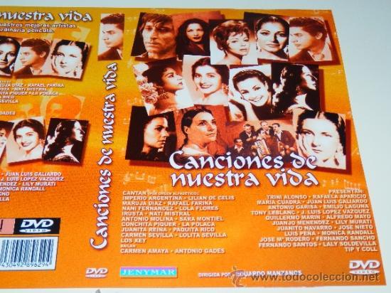 CANCIONES DE NUESTRA VIDA FARINA MARUJA DIAZ MOLINA PIQUER SEVILLA ETC MANZANOS DVD NUEVO MUSICA ALM (Música - Videos y DVD Musicales)