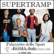 Vídeos y DVD Musicales: SUPERTRAMP - LIVE IN ROMA, ITALY 1988 (DVD). Lote 194724082