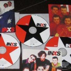Vídeos y DVD Musicales: 'INXS THE YEARS 1979-1997'. ED. COLECCIONISTAS. 2 CD + 1 DVD. TODOS SUS VIDEO-CLIPS. DESCATALOGADO.. Lote 39063259