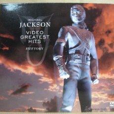 Vídeos y DVD Musicales: DVD - MICHAEL JACKSON - VIDEO GREATEST HITS - HISTORY - ¡¡¡ PRECINTADO ¡¡. Lote 195499868