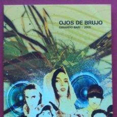 Vídeos y DVD Musicales: OJOS DE BRUJO - GIRANDO BARI 2005 - DVD. Lote 42051834