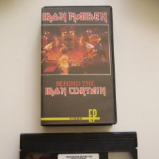 Vídeos y DVD Musicales: IRON MAIDEN. VIDEO VHS. BEHIND THE IRON CURTAIN. Lote 40048096