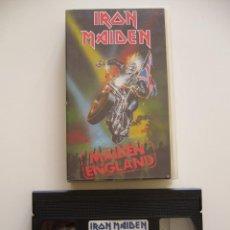 Vídeos y DVD Musicales: IRON MAIDEN. VIDEO VHS. MAIDEN ENGLAND. Lote 40048122