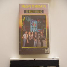 Vídeos y DVD Musicales: IRON MAIDEN. VIDEO VHS. 12 WASTED YEARS. Lote 40048156