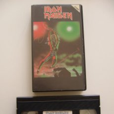 Vídeos y DVD Musicales: IRON MAIDEN. VIDEO VHS. LIVE AT THE RAINBOW 1981. Lote 40048182