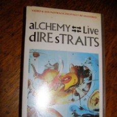 Vídeos y DVD Musicales: VHS - DIRE STRAITS - ALCHEMY EN VIVO - POLYGRAM 1983 - EDICIÓN PARA U.K.. Lote 40254823