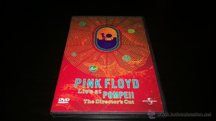 PINK FLOYD - LIVE AT POMPEII - THE DIRECTOR'S CUT (Música - Videos y DVD Musicales)