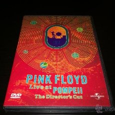 Vídeos y DVD Musicales: PINK FLOYD - LIVE AT POMPEII - THE DIRECTOR'S CUT. Lote 218995633