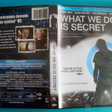 Vídeos y DVD Musicales: WHAT WE DO IS SECRET, SHANE WEST, BIJOU PHILIPS, RICK GONZALEZ, NOAH SEGAN, DVD YEAR 2007. Lote 40515696