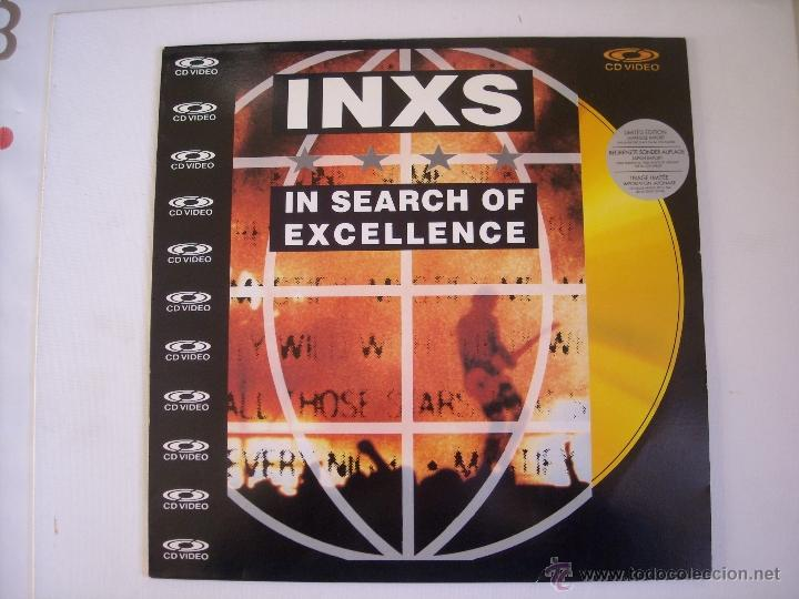 LASERDISC:INXS,IN SEARCH OF EXCELLENCE (POLYGRAM MUSIC VIDEO) (PAL) EDICION JAPONESA (Música - Videos y DVD Musicales)
