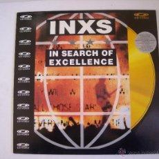 Vídeos y DVD Musicales: LASERDISC:INXS,IN SEARCH OF EXCELLENCE (POLYGRAM MUSIC VIDEO) (PAL) EDICION JAPONESA. Lote 40646441