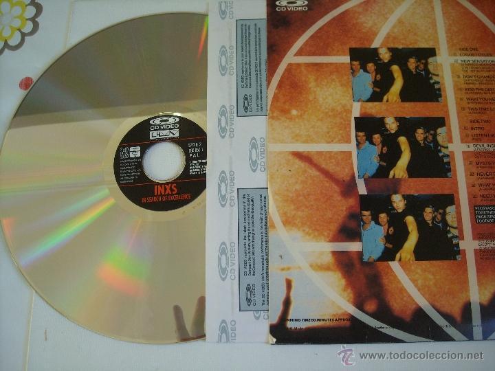 Vídeos y DVD Musicales: LASERDISC:INXS,In Search Of Excellence (Polygram music video) (pal) EDICION JAPONESA - Foto 2 - 40646441