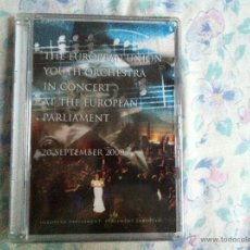 Vídeos y DVD Musicales: DVD THE EUROPEAN UNION YOUTH ORCHESTRA IN CONCERT AT EUROPEAN. Lote 40705457