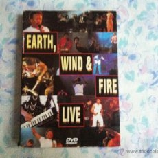 Vídeos y DVD Musicales: DVD EARTH WIND &FIRE-LIVE. Lote 40705573