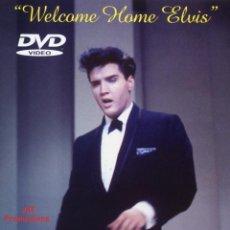 Vídeos y DVD Musicales: WELCOME HOME ELVIS PRESLEY (DVD PRECINTADO IMPORTACION) THE FRANK SINATRA SHOW. Lote 155277261