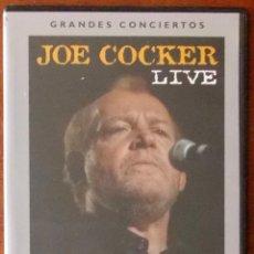 Vídeos y DVD Musicales: JOE COCKER LIVE - GRANDES CONCIERTOS TERRA. Lote 40800894