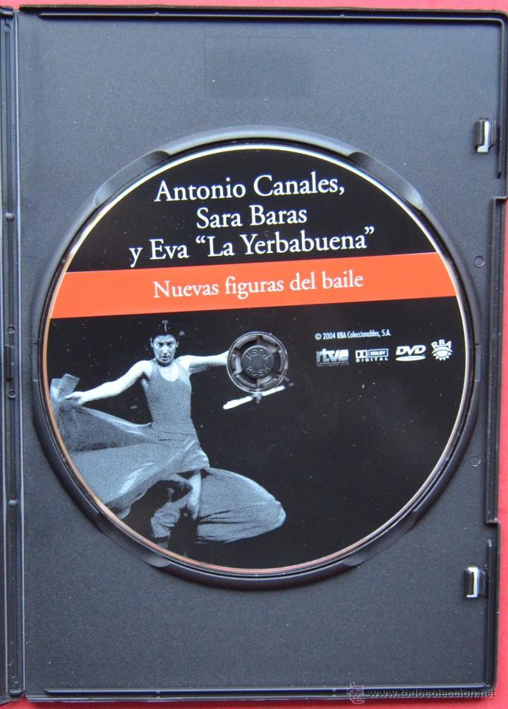 Vídeos y DVD Musicales: ANTONIO CANALES - SARA BARAS - EVA LA YERBABUENA - NUEVAS FIGURAS DEL BAILE - DVD - Foto 3 - 40822809