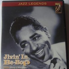 Vídeos y DVD Musicales: DVD JIVIN´IN BE - BOP DIZZI GILLESPIE AND HIS ORCHESTRA . Lote 40906067