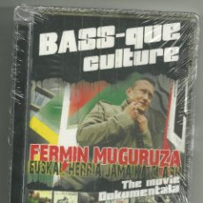 Vídeos y DVD Musicales: FERMIN MUGURUZA [DVD + CD] BASS-QUE CULTURE ¡NUEVO! KORTATU. Lote 40953669