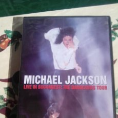 Vídeos e DVD Musicais: DVD - MICHAEL JACKSON. LIVE IN BUCHAREST: THE DANGEROUS TOUR . Lote 40996411