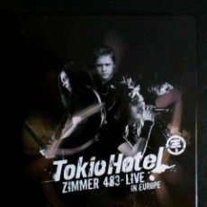 Vídeos y DVD Musicales: TOKIO HOTEL - ZIMMER 483 LIVE IN EUROPE - 2 DVD'S + CD. Lote 41371723