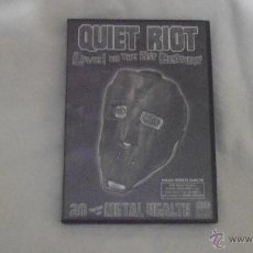 Vídeos y DVD Musicales: QUIET RIOT - LIVE IN THE 21ST CENTURY 20 YEARS OF METAL HEALTH DVD/CD 70139 MULTICHANNEL. Lote 41497441