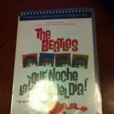 Vídeos y DVD Musicales: THE BEATLES - ¡QUE NOCHE LA DE AQUEL DIA! - VHS 2002 NUEVO A DESPRECINTAR -. Lote 41574987