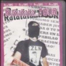 Vídeos y DVD Musicales: VHS FE DE RATAS RATATATA....TOUR (STO.GRIAL 2002). Lote 41610644