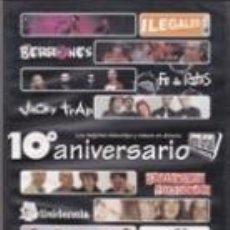 Vídeos y DVD Musicales: DVD 10º ANIVERSARIO SANTO GRIAL RECORDS (2005). Lote 41640993