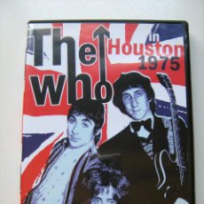 Vidéos y DVD Musicaux: THE WHO IN HOUSTON 1975 DVD. Lote 42033270