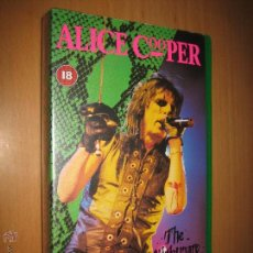 Vídeos y DVD Musicales: ALICE COOPER . THE NIGHTMARE RETURNS ( VIDEO VHS 86 MIN. HEAVY METAL). Lote 42170845