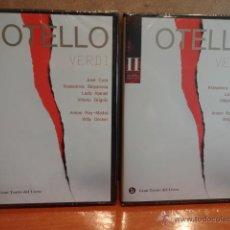 Vídeos y DVD Musicales: OTELLO. GRAN TEATRE DEL LICEU. BICENTENARIO WAGNER / VERDI - 2013. VOL - I - II. PRECINTADO.. Lote 226907015