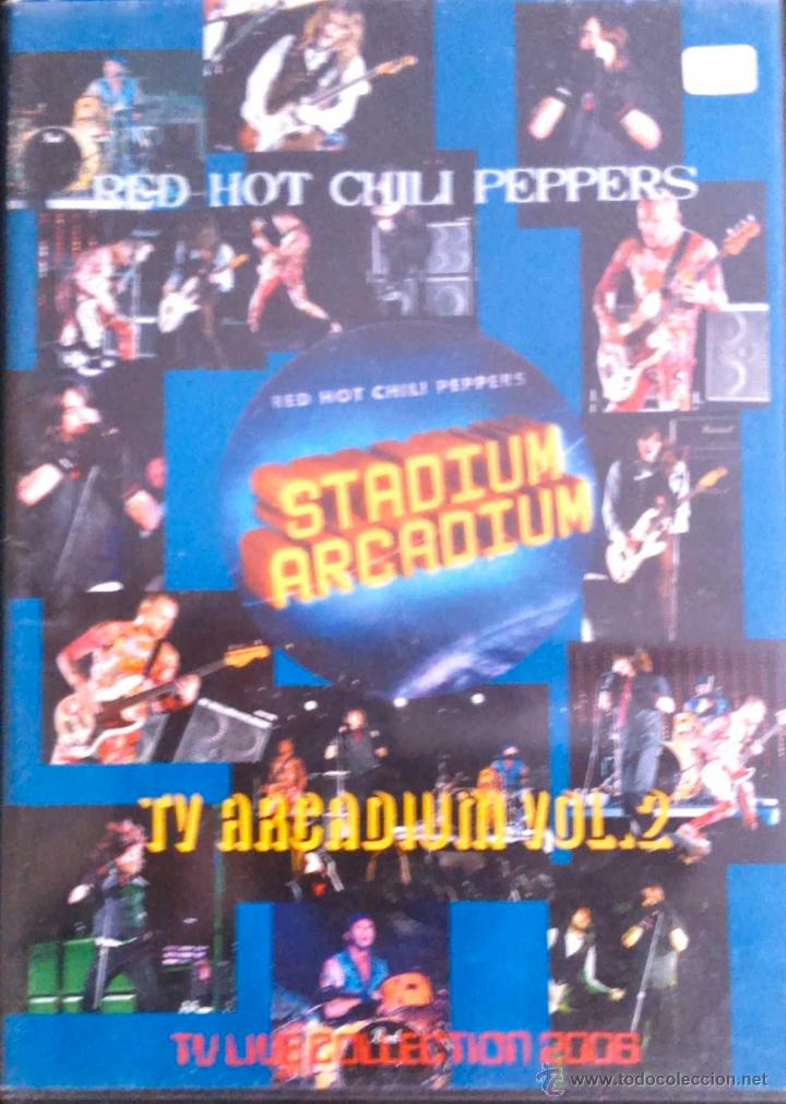 RED HOT CHILI PEPPERS - TV ARCADIUM VOL 2 - DVD NO OFICIAL